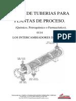 Curso de tuberías para plantas de proceso - 0114 Intercambiadores de Calor