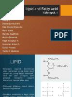 Kelompok 1 Lipid