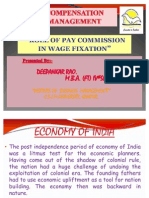 Role of Pay Commission