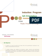 QA Induction