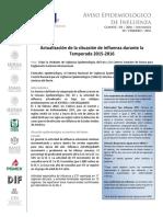 Aviso Epidemiologico Influenza 100216