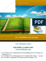 Acc 310 Papers Learn by Doing
