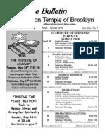 UT Bulletin May 2010