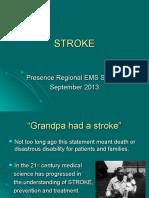 2013 September Stroke