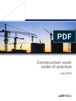 Construction Work Code Practice 3842