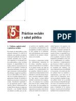 Prácticas sociales y salud pública