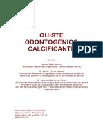 Quiste Odontogenico Calcificante