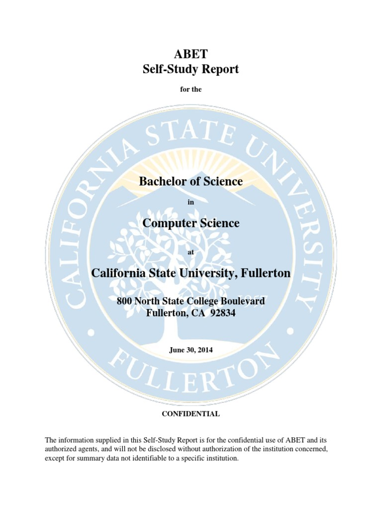 Computer Science Self Study Fullerton  University And College Admission   Technology