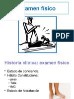 3) Examen físico