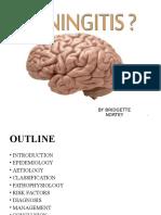 Introduction to Meningitis