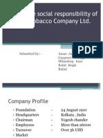 India Tobacco Company Ltd