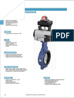 Butterfly Valve With Rotary Actuator