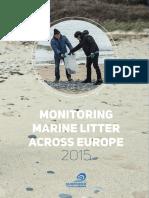 Rapport_Monitoring Marine Litter Across Europe _2015-Ok