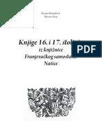 Katalog Knjige 16 i 17 Stoljeca Iz Knjiznice Franjevackog Samostana Nasice