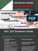 ACC 225 Apprentice tutors/snaptutorial