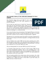 WBS URA Receivership Statement