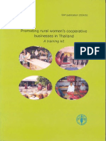 Promoting rural women's cooperatives - training kit - 1