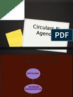 Circular&Agenda