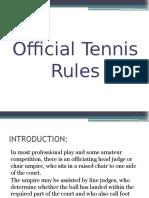 Tennis Presentation
