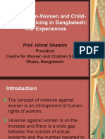 Presentation - Pro-Women and Child-Friendly - Prof. Ishrat Shamim