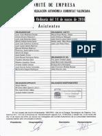 Acta Comité Autonómico Tragsa UT 2 CV 14/03/2016