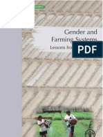 Gender and Farming Systems