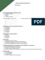 grile bacteriologie