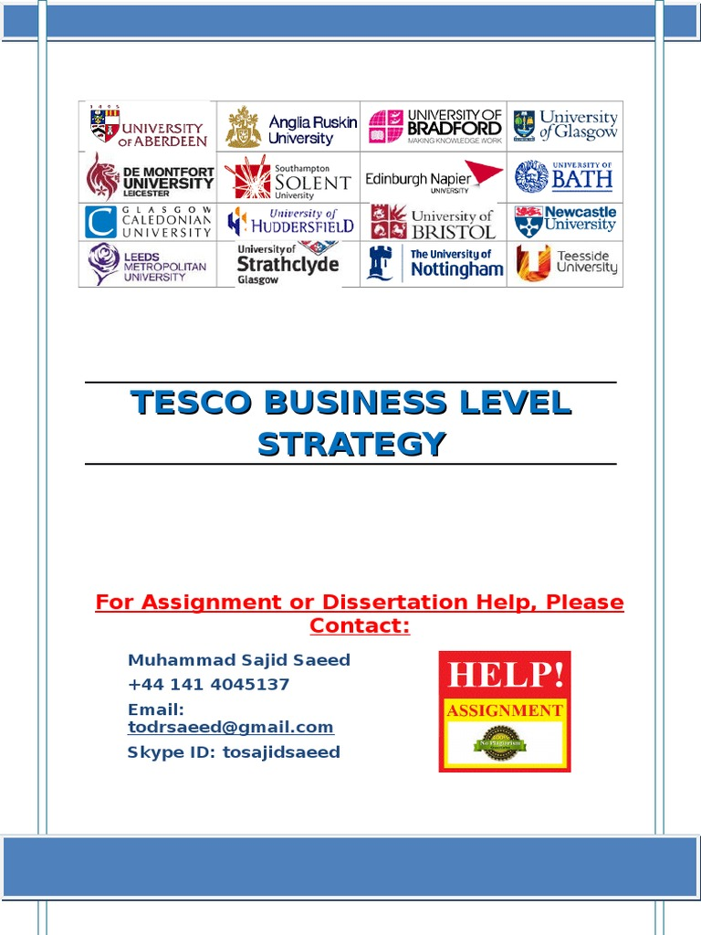 strategic management and leadership at tesco Impact of management and leadership styles on strategic of transformational leadership in tesco plc and that this the writepass journal.