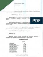 Decreto Lista Provisional Trabajador/a Social