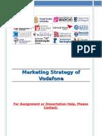Marketing Strategy of Vodafone