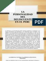 Delincuente Peruano