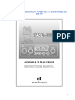 Manual Romana Tti Tcb 550