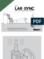 Hunter Wireless SolarSync Manual
