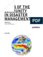 Disaster Management and the Community