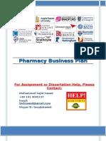 Pharmacy Marketing Plan