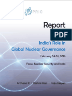 India's Role in Global Nuclear Governance