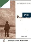 Requilorios - primera novela en extremeño - 1984
