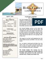 church bulletin 4-17-2016