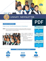 Unnati Newsletter, 2015