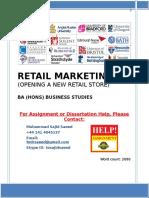 Saeed - Retail Marketing.docx