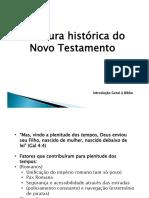 9 - Estrutura Histórica Do NT