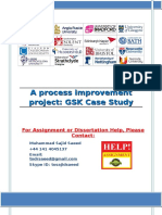 A process improvement project