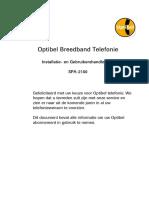 Gebruikers Handleiding Optibel