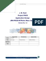 Project PACE Design Document