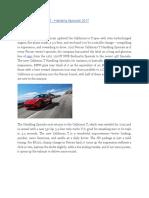The Ferrari California T