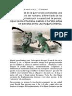 LA PAZ EN COLOMBIA ES UN ANATEMA