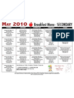 Sec Break Menu May 10