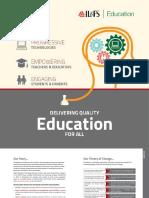 Education Services Brochure