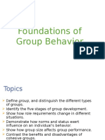 Chapter 9- Foundations of Group Behavior(1)