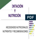 PTT Alimentación-Nutrición y Dietas